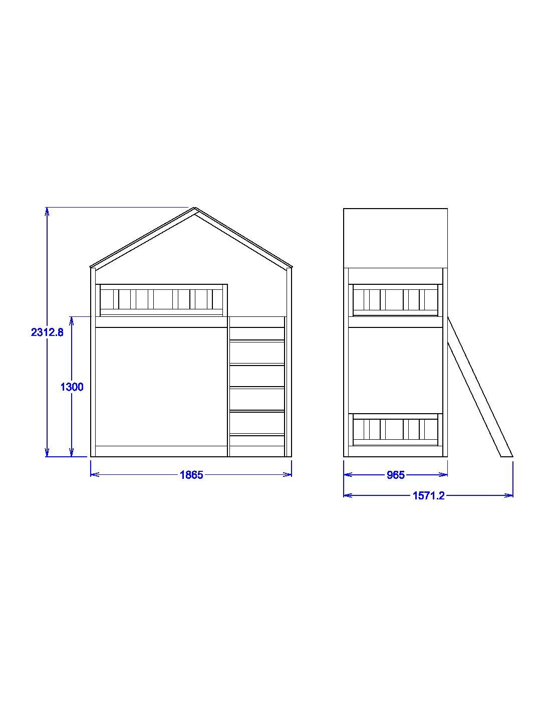 Łóżko piętrowe Szostak (1)