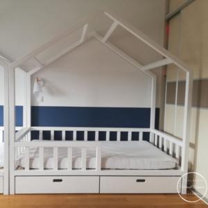 łóżeczko domek z szufladami (2)